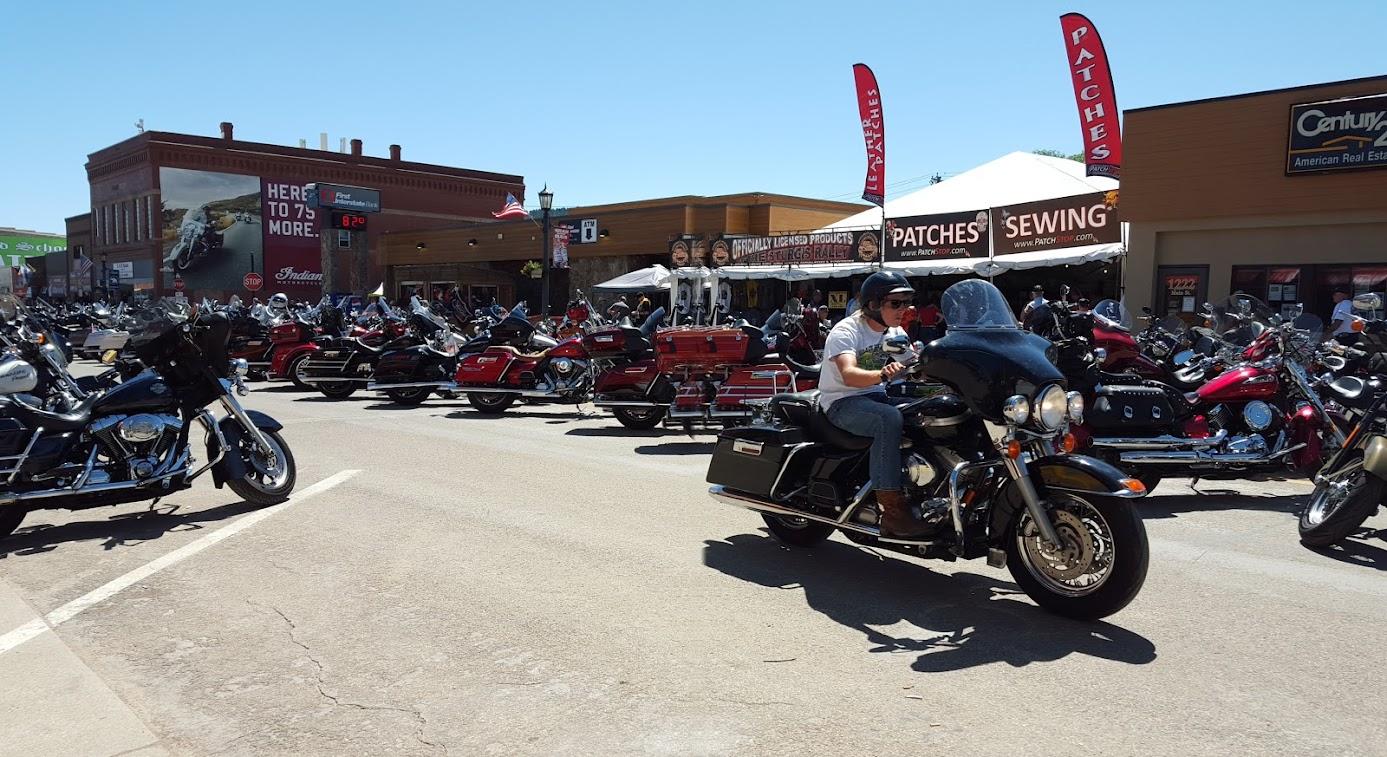 Sturgis Motorcycle Rally - Main Street Sturgis, South Dakota